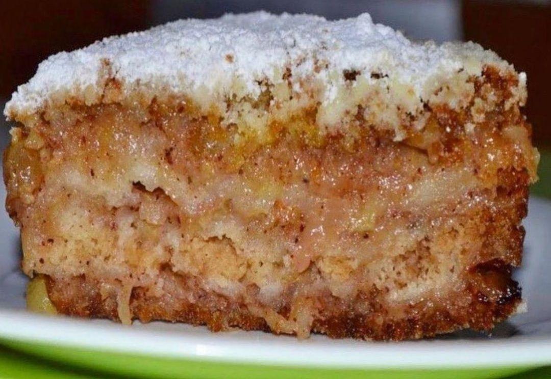 """Незвичний рецепт приготування яблучного пирога """"Три стакана"""". Щира рекомендація!"""