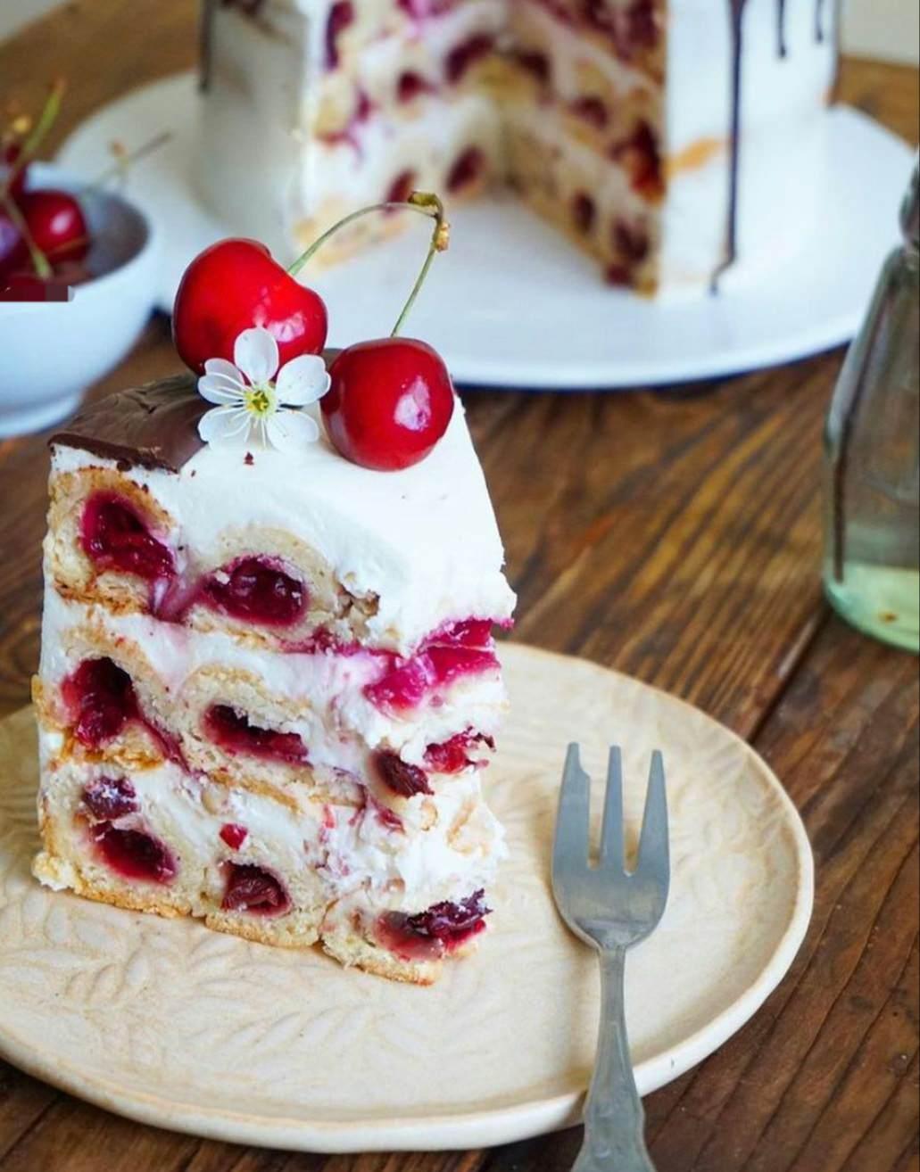 """Торт """"Монастирська хата"""". Улюблений десерт мого дитинства"""