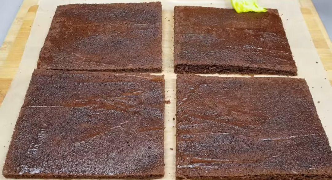Рецепт шоколадного торта з ніжним кремом