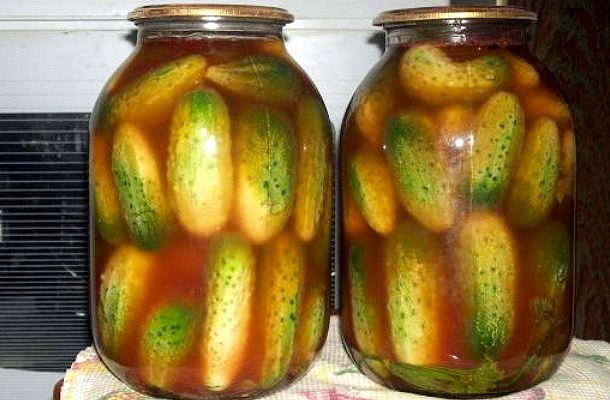 Огірки з кетчупом чилі торчин рецепт на 3 літрову банку