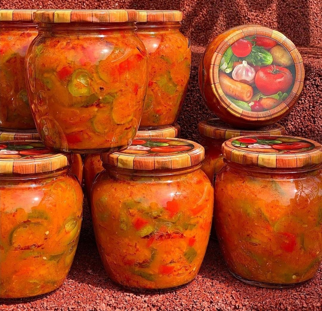 Огірки в лечо: рецепт приготування на зиму