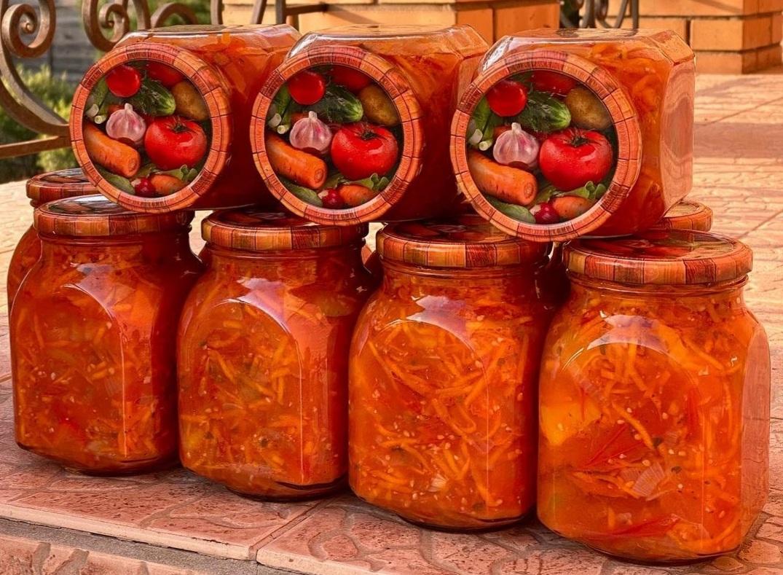 """Салат """"Придунайський"""" на зиму: покроковий рецепт приготування"""