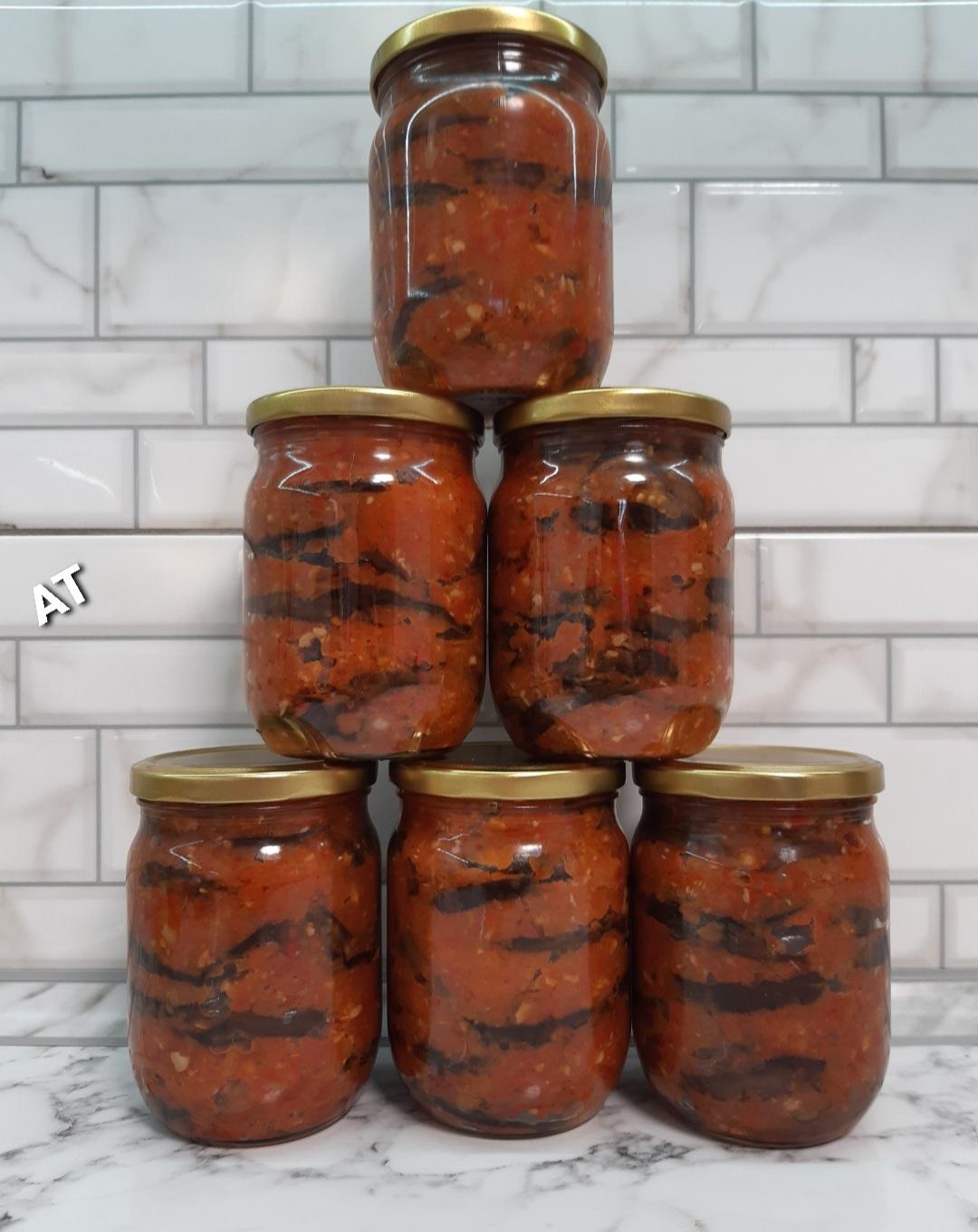 Гострі баклажани на зиму: дуже смачний рецепт приготування.